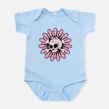 Sweet Pink Skull Infant Bodysuit