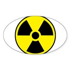 Radiation Sign e1 Decal