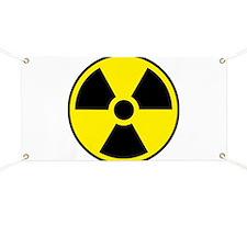 Radiation Sign e1 Banner