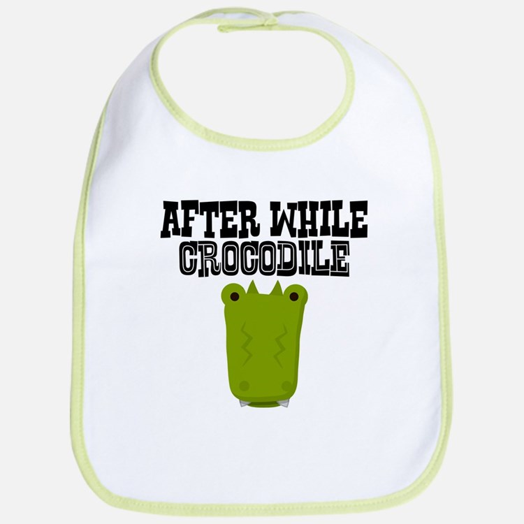 After While Crocodile Bib