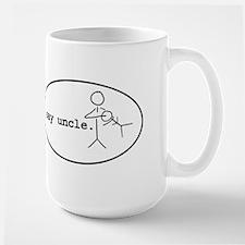 uncle-chuck-oval Mugs