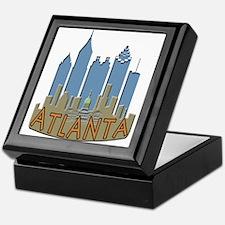 Atlanta Skyline Newwave Beachy Keepsake Box