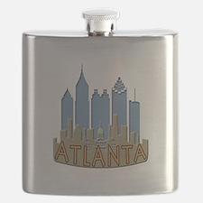 Atlanta Skyline Newwave Beachy Flask