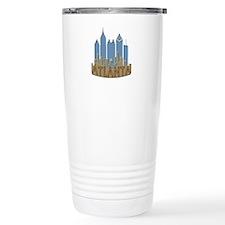 Atlanta Skyline Newwave Beachy Travel Mug