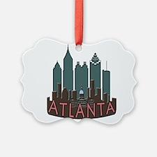 Atlanta Skyline Newwave Chocolate Ornament