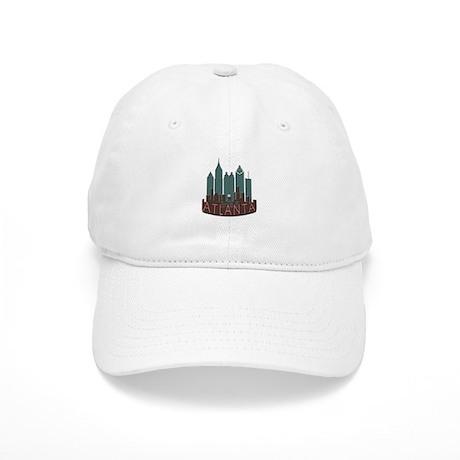 Atlanta Skyline Newwave Chocolate Cap