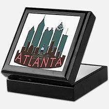Atlanta Skyline Newwave Chocolate Keepsake Box