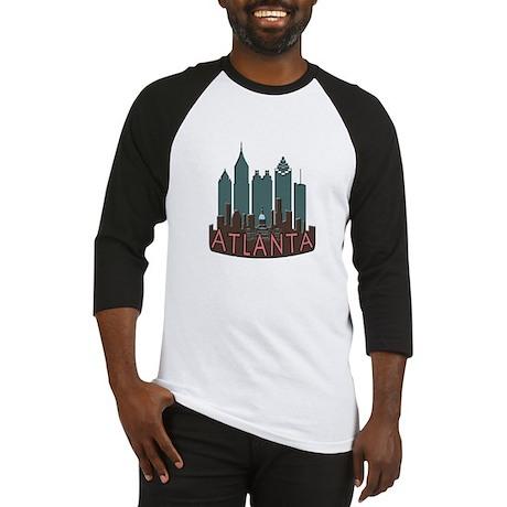 Atlanta Skyline Newwave Chocolate Baseball Jersey
