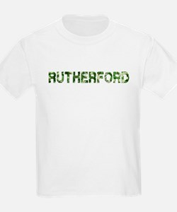 Rutherford, Vintage Camo, T-Shirt