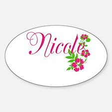 Nicole Sticker (Oval)