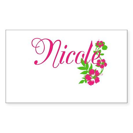 Nicole Sticker (Rectangle)