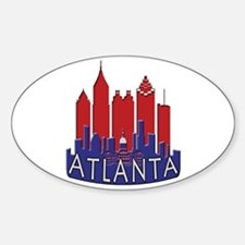 Atlanta Skyline Newwave Patriot Decal