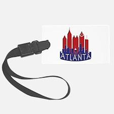 Atlanta Skyline Newwave Patriot Luggage Tag
