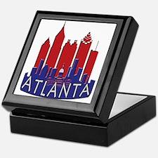 Atlanta Skyline Newwave Patriot Keepsake Box