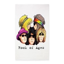 Rock of Ages 3'x5' Area Rug