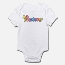 Rainbow Whatever Infant Bodysuit