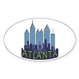 Atlanta skyline 10 Pack
