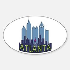 Atlanta Skyline Newwave Cool Decal