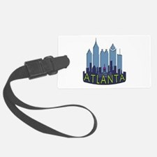 Atlanta Skyline Newwave Cool Luggage Tag