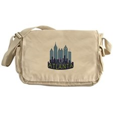 Atlanta Skyline Newwave Cool Messenger Bag