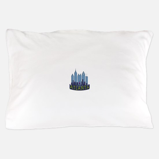 Atlanta Skyline Newwave Cool Pillow Case