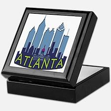 Atlanta Skyline Newwave Cool Keepsake Box