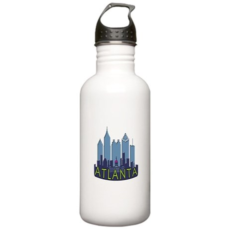 Atlanta Skyline Newwave Cool Stainless Water Bottl