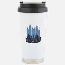 Atlanta Skyline Newwave Cool Travel Mug