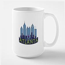 Atlanta Skyline Newwave Cool Mug