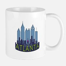 Atlanta Skyline Newwave Cool Mug