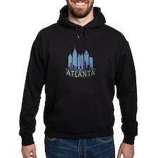 Atlanta Skyline Newwave Cool Hoodie