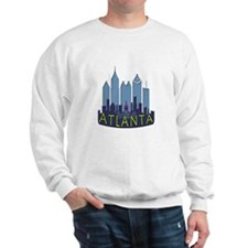 Atlanta Skyline Newwave Cool Sweatshirt