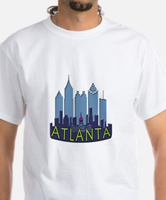 Atlanta Skyline Newwave Cool Shirt