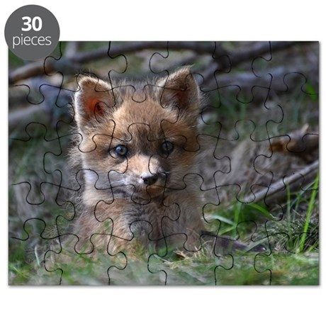 Red fox kit Puzzle