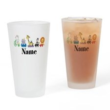 Personalized Noahs Ark Drinking Glass