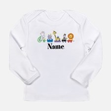 Personalized Noahs Ark Long Sleeve Infant T-Shirt