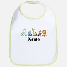 Personalized Noahs Ark Bib