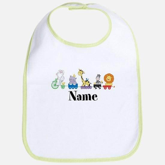 Personalized Noahs Ark Bib