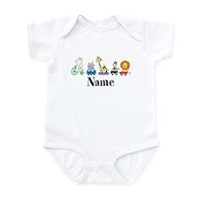 Personalized Noahs Ark Infant Bodysuit