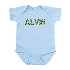 Alvin, Vintage Camo, Infant Bodysuit