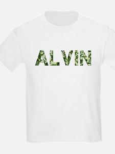 Alvin, Vintage Camo, T-Shirt