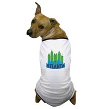 Atlanta Skyline Newwave Primary Dog T-Shirt