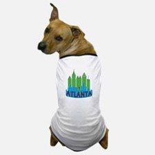 Atlanta Skyline Newwave Primary Dog T-Shirt