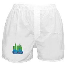 Atlanta Skyline Newwave Primary Boxer Shorts