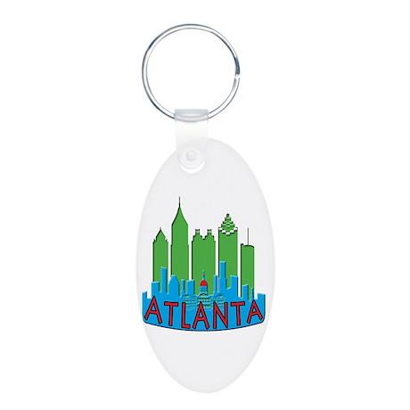 Atlanta Skyline Newwave Primary Aluminum Oval Keyc