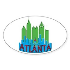 Atlanta Skyline Newwave Primary Decal