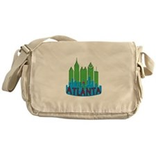 Atlanta Skyline Newwave Primary Messenger Bag