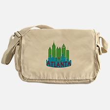 Atlanta Skyline Newwave Primary Messenger Bag
