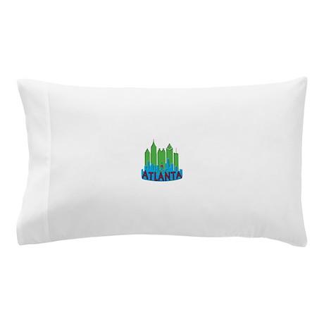Atlanta Skyline Newwave Primary Pillow Case