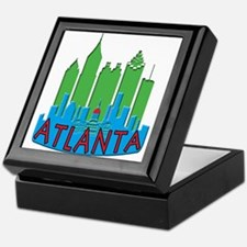 Atlanta Skyline Newwave Primary Keepsake Box